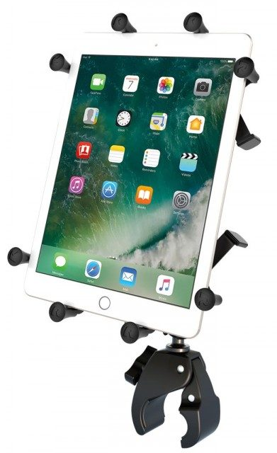 Köp RAM Mount X-Grip med Tough-Claw & Roto-View (iPad)